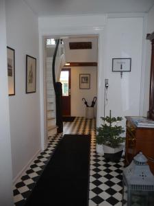 Lobbyen eller receptionen på Sverre's Hotel