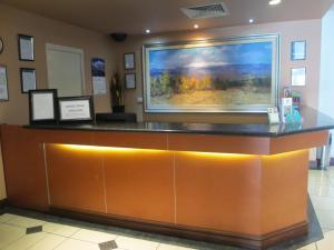 The lobby or reception area at Springwood Tower Apartment Hotel