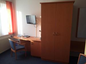 TV/Unterhaltungsangebot in der Unterkunft Hotel Am Salzberg