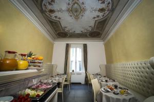 Ein Sitzbereich in der Unterkunft Hotel La Casa di Morfeo