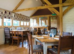A restaurant or other place to eat at The Pheasant at Neenton