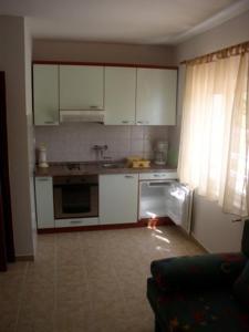 Kuchyň nebo kuchyňský kout v ubytování Villa Maja