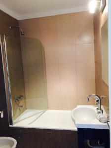 Un baño de Apart Hotel Cañuelas