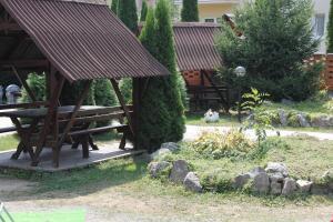 A garden outside Zakarpattya