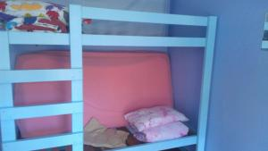 A bunk bed or bunk beds in a room at Anglesea Backpackers