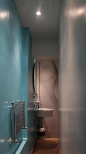 A bathroom at Florent