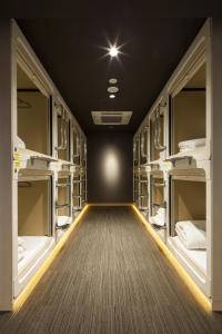 Litera o literas de una habitación en Tokyo Ginza BAY HOTEL