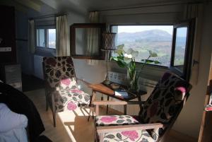Zona de estar de Hotel Rural El Algaire