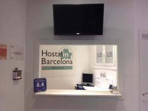 Μια τηλεόραση ή/και κέντρο ψυχαγωγίας στο Hostalin Barcelona Diputación