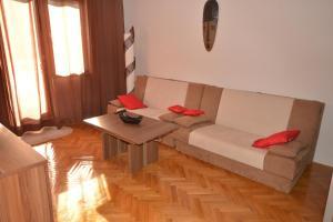 Posezení v ubytování Sole Mio Apartment