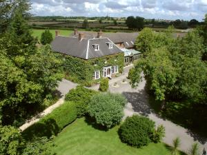 A bird's-eye view of Marsh Farm Hotel
