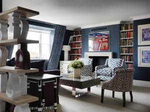A seating area at Charlotte Street Hotel, Firmdale Hotels