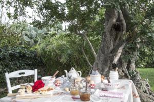 Ontbijt beschikbaar voor gasten van Masseria Cianciò
