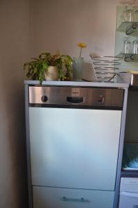 Küche/Küchenzeile in der Unterkunft Hauer Apartment