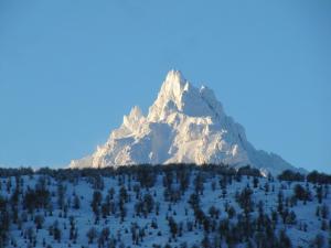 B&B Cerro Krund durante el invierno