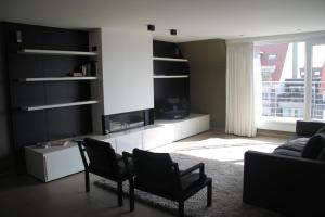 Een zitgedeelte bij Pagnaert Apartment