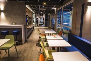 Restaurant ou autre lieu de restauration dans l'établissement Ibis Budget Sallanches