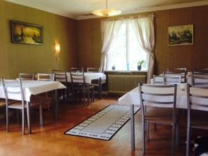 En restaurang eller annat matställe på Marielund Gård