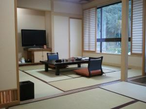 A television and/or entertainment centre at Yuzawa Grand Hotel