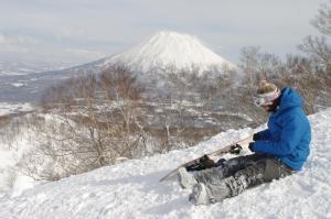 Niseko Izumikyo during the winter