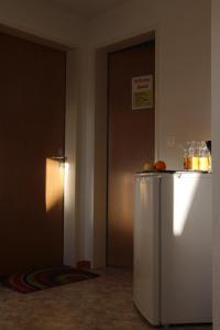 A kitchen or kitchenette at Wirtshaus Rutihof