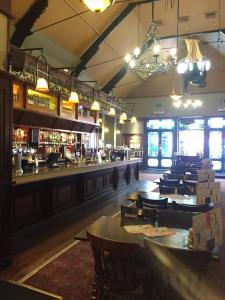 A restaurant or other place to eat at The Last Post Wetherspoon Hotel