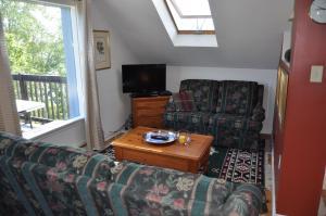 Ein Sitzbereich in der Unterkunft Richmond Highland Farm