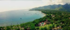 Vista aerea di Taman Sari Bali Resort and Spa
