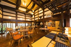 A restaurant or other place to eat at Ryokan Asunaro