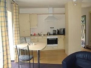 Küche/Küchenzeile in der Unterkunft Haus Fernsicht