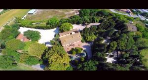 Hotel Il boschetto с высоты птичьего полета