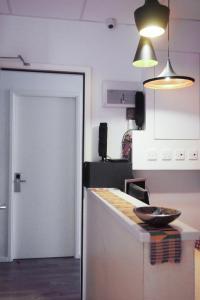 A kitchen or kitchenette at Hoho Hostel