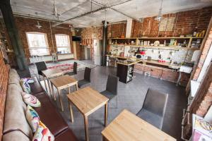 A restaurant or other place to eat at Nabokov Loft-Hotel