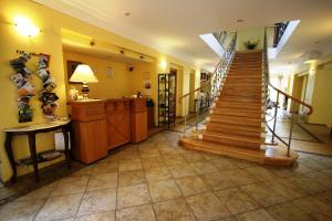 The lobby or reception area at Villa Alberta