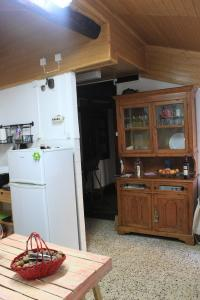 A kitchen or kitchenette at Casa do Coronel
