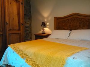 Cama o camas de una habitación en La casa de castillo