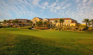 Kebun di luar Arabian Ranches Golf Club