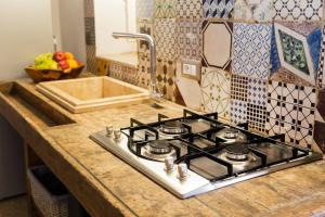 Cucina o angolo cottura di Le Scuderie Noha