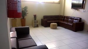 A seating area at Hotel Mandari