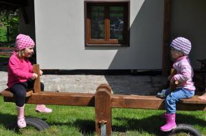 Děti v ubytování Apartmány u Honzy