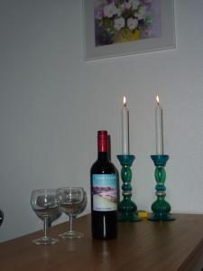 Drinks på Tines Gjestehuz