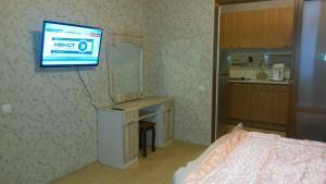 Телевизор и/или развлекательный центр в Apartment Alpiyskaya