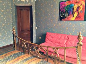 Гостиная зона в Apartment Kamennaya 1