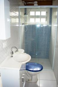 A bathroom at Santa Sereia