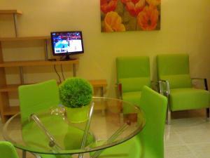 Una televisión o centro de entretenimiento en Residencial Alcoy