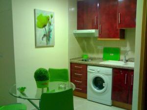 Una cocina o zona de cocina en Residencial Alcoy