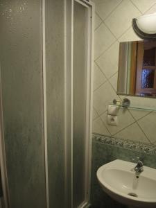Łazienka w obiekcie Pokoje u Tosi i Czesia