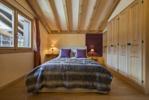 Ein Bett oder Betten in einem Zimmer der Unterkunft Apartment Beaumont