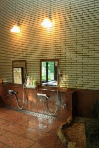 A bathroom at Yabukiso