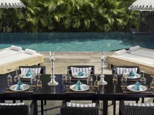 Ресторан / где поесть в Villa Maya Retreat